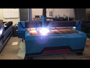 varm försäljning cnc metallplasmaskärmaskin / plasmaskärare försäljning