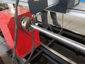 2017 Ny bärbar typ Plasmametallrörsmaskin, CNC metallrör skärmaskin