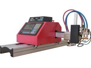 varm försäljning bärbar gantry cnc flamma plasma skärmaskin med thc för stål