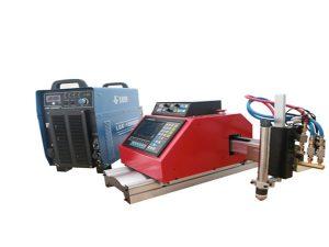 Automatisk bärbar CNC-plasmaskärmaskin för stålrostfritt stål