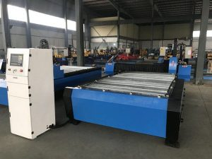 Kina 1325 1530 billig fackla höjdkontroll plasma huayuan metall stål skärning cnc plasma skärmaskin