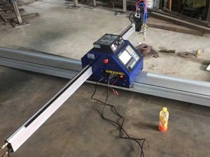 Kina billig 15002500mm metall bärbar CNC plasmaskärmaskin med CE