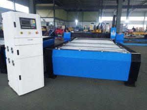 Kina cnc plasma skärmaskin hyper 125a tjock metallplåt 65a 85a 200a valfri jbt-1530