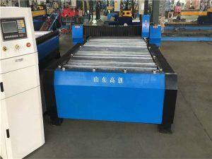Heavy duty cnc rör rörplatta metallplasmaskärmaskin för rostfritt stålkolståliron