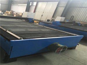 Het försäljning metallplåt skärning rostfritt stål kolstål 100 En cnc plasmaskärare 120 plasmaskärmaskin