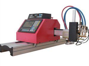Multifunktionell fyrkantig stålrörsprofil CNC FlamePlasma skärmaskin med hög kvalitet