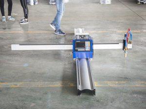 Ny teknik mikro START CNC metallskärare / bärbar cnc-plasmaskärmaskin