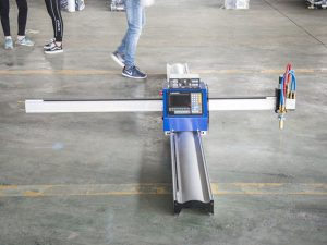 Ny teknologi bärbar typ cnc plasma skärmaskin pris små företag tillverkning maskiner
