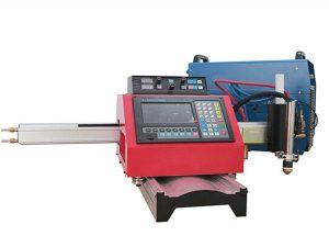 Bärbar CNC-plasmaskärmaskin och automatisk gasskärmaskin med stålspår
