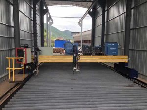 Precision CNC Plasmaskärmaskin noggrann 13000mm med servomotor