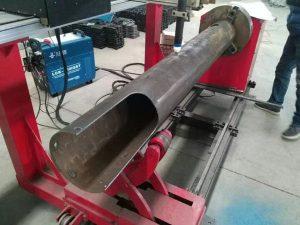 Rotationsaxel CNC Cirkelrör Lågkostnad CNC Plasmaskärmaskin