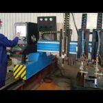 tunga portaler cnc plasma skärmaskin automatiserad tillverkning av metall