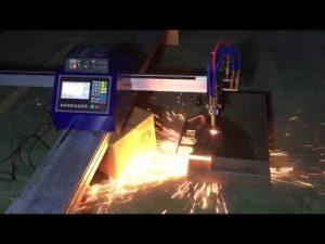 lågkostnads mini-bärbar cnc-rörflammaskärmaskin för skärning av rostfritt stål i metall