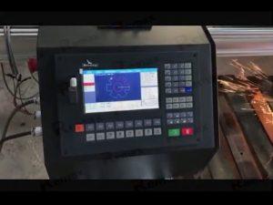 bärbar cnc flameplasma skärmaskin med servomotor